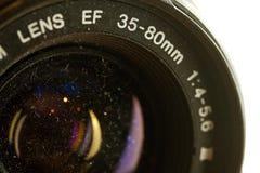 Gammal 35mm lins Fotografering för Bildbyråer