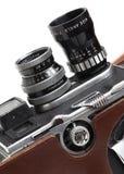 gammal 8mm kamerafilm Arkivfoto