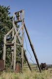 Gammal abanadoned bryta utrustning som lokaliseras i Victor Colorado arkivbild