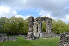 gammal abbey royaltyfri foto