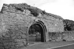 gammal abbey Arkivfoto