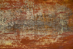 Gammal abstrakt rostig bakgrund Royaltyfri Foto