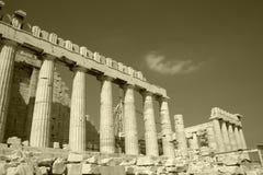 gammal acropolis Arkivfoto