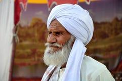 gammal afghani man Arkivfoton