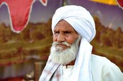 gammal afghani man Royaltyfri Fotografi