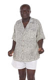 gammal afrikansk man Royaltyfri Fotografi