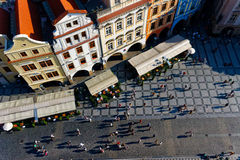 Gammal afton Prague Royaltyfria Foton