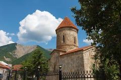 Gammal albankyrka i Kish Azerbaijan Fotografering för Bildbyråer