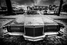 gammal amerikansk bil Fotografering för Bildbyråer