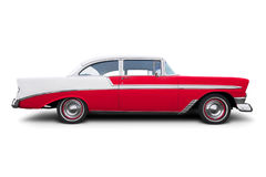 gammal amerikansk bil Arkivbilder