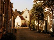 gammal amersfoort stad Royaltyfri Fotografi