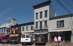 Gammal Annapolis gata 1 Royaltyfri Bild