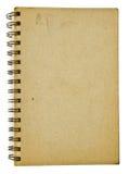 gammal anteckningsbok arkivbilder