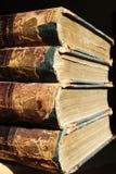 gammal antik bok Arkivfoton