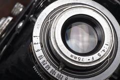 gammal antik kamera arkivfoto