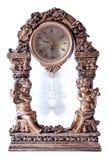 gammal antik klocka Arkivfoto