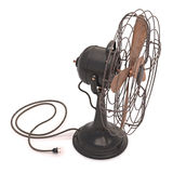 gammal antik ventilator Arkivfoton