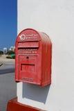 Gammal arabisk brevlåda Royaltyfri Fotografi