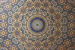 gammal arabisk mosaik Royaltyfri Fotografi