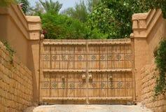 Gammal arabisk stad royaltyfri foto