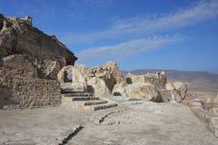 Gammal archeological lokal i kurdish region Arkivfoto