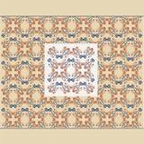 Gammal arg sömlös kunglig lyxig texturbakgrund Royaltyfri Bild