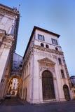 Gammal arkitektur av Brescia Royaltyfri Bild