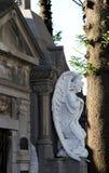 Kyrkogård Recoleta i Buenos Aires. sikt av Argentina. Arkivfoton