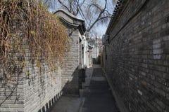 Gammal arkitektur av Peking Royaltyfria Bilder