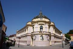 Gammal arkitektur av Pozega, Kroatien Royaltyfria Bilder