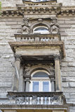 Gammal arkitektur i Budapest, Ungern royaltyfri foto