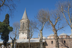 Gammal arkitektur i Istanbul Arkivbild