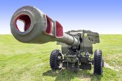 gammal artillerikanon Royaltyfri Bild