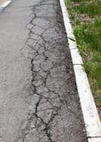 Gammal asfalt Royaltyfria Foton