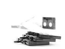 Gammal audio av kassetten Fotografering för Bildbyråer