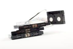 Gammal audio av kassetten Royaltyfri Foto