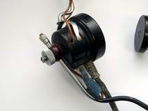 Gammal autentisk ljudutrustning Arkivbild