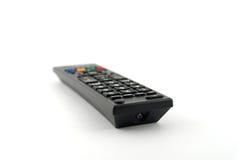 Gammal avlägsen konsol för TV Arkivbild