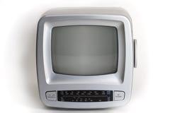 gammal bärbar television Royaltyfri Foto