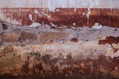 Gammal bakgrund för cementväggtappning fotografering för bildbyråer