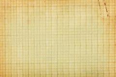 Gammal bakgrund för grafpapper arkivfoto