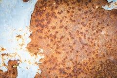 Gammal bakgrund för metalljärnrost arkivbilder