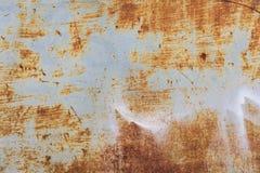 Gammal bakgrund för metalljärnrost Arkivfoto