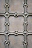 Gammal bakgrund för metallplatta Royaltyfria Foton