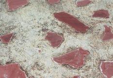 Gammal bakgrund för stenvägg av den medeltida slotten Arkivfoto