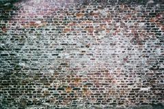 Gammal bakgrund för tegelstenvägg Royaltyfri Fotografi