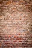Gammal tegelstenvägg Royaltyfria Bilder