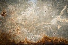 Gammal bakgrund för textur för metalljärnrost royaltyfria foton