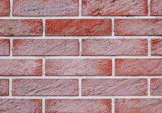 Gammal bakgrund för textur för vägg för vit och röd tegelsten arkivbilder