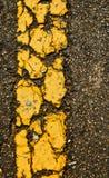 Bakgrund för vägen texturerar långt Arkivbild
